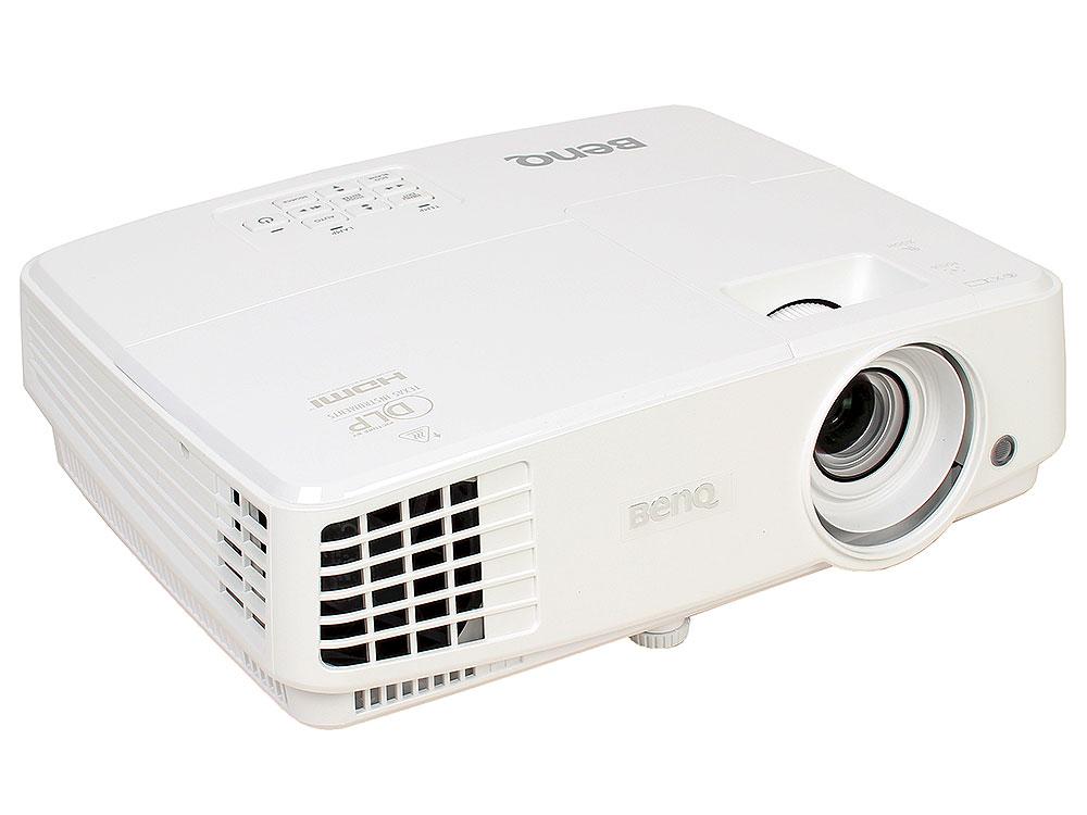 Мультимедийный проектор BenQ MS527 DLP 3300Lm 13000:1 (4500час) 1xHDMI 1.9кг проектор benq mx822st