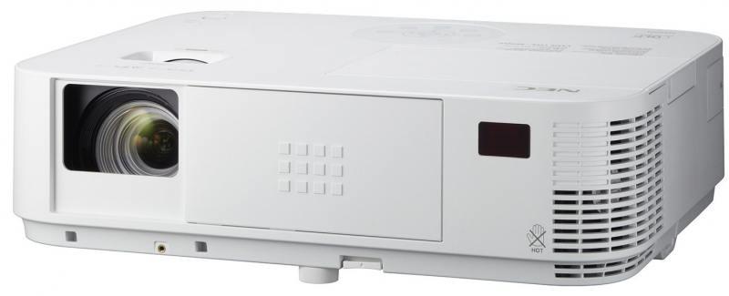 Проектор NEC M403H DLP 1920x1080 4000Lm 10000:1 VGA 2хHDMI RS-232 USB Ethernet