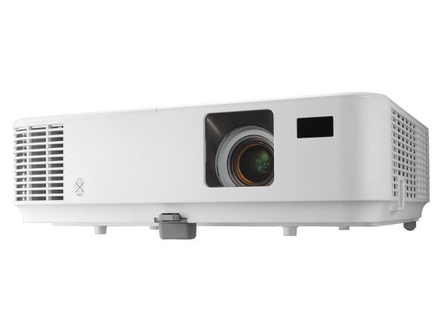 Проектор NEC V332W DLP 1280x800 3300Lm 10000:1 VGA 2хHDMI USB Ethernet проектор nec um301x lcd 1024x768 3000lm 6000 1 vga 2хhdmi usb ethernet