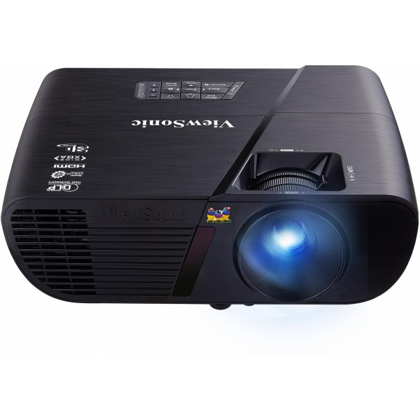 Проектор Viewsonic PJD5555W DLP 1280x800 3300ANSI Lm 20000:1 VGAх2 HDMI S-Video RS-232 проектор nec me401w lcd 1280x800 4000 ansi lm
