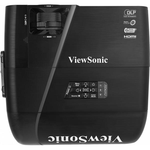 Проектор Viewsonic PJD6352 DLP 1024x768 3500ANSI Lm 15000:1 VGAх2 HDMI S-Video RS-232 проектор nec um361x lcdx3 1024x768 3600 ansi lm