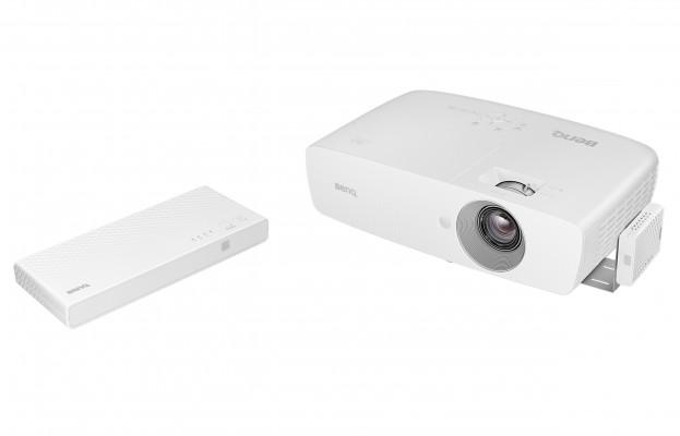 Проектор BENQ W1090 1920х1080 2000 люмен 10000:1 белый проектор benq mx822st