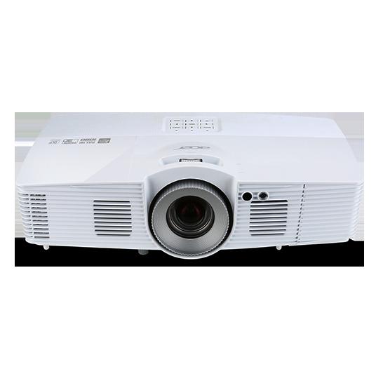 Мультимедийный проектор Acer V7500 DLP 2500Lm 20000:1 (3000час) 1xUSB typeA 2xHDMI 3кг MR.JM411.001 benq mx704 dlp 4000lm 1024x768 13000 1 1xusb typea 2xhdmi