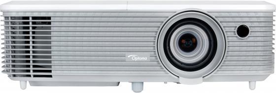 Проектор Optoma X400 DLP 1024x768 4000 ANSI Lm 22000:1 VGA HDMI USB RS-232 белый 95.78B01GC0E проектор acer f7600 dlp 1920x1200 5000 ansi lm