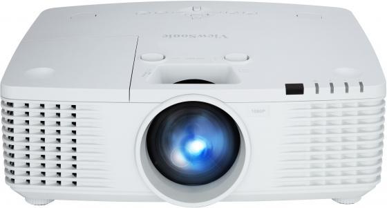 Проектор Viewsonic Pro9530HDL DLP 1920x1080 5200ANSI Lm 6000:1 VGA DVI HDMI USB RS-232 белый VS16507 проектор viewsonic pro8520wl dlp 1280x800 5200ansi lm 5000 1 usb hdmi