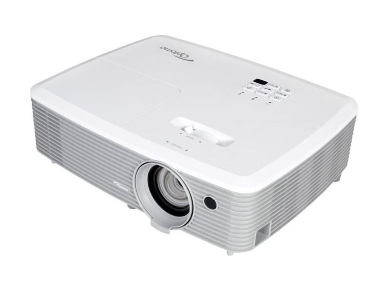 Проектор Optoma EH400+ DLP 1920x1080 4000 ANSI Lm 22000:1 VGA HDMI S-Video USB RS-232 95.78J01GC0E проектор acer f7600 dlp 1920x1200 5000 ansi lm