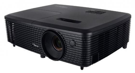 Проектор Optoma H183X DLP 1280x800 3200 ANSI Lm 25000:1 VGA HDMI USB RS-232 черный 95.72H01GC2E проектор acer f7600 dlp 1920x1200 5000 ansi lm