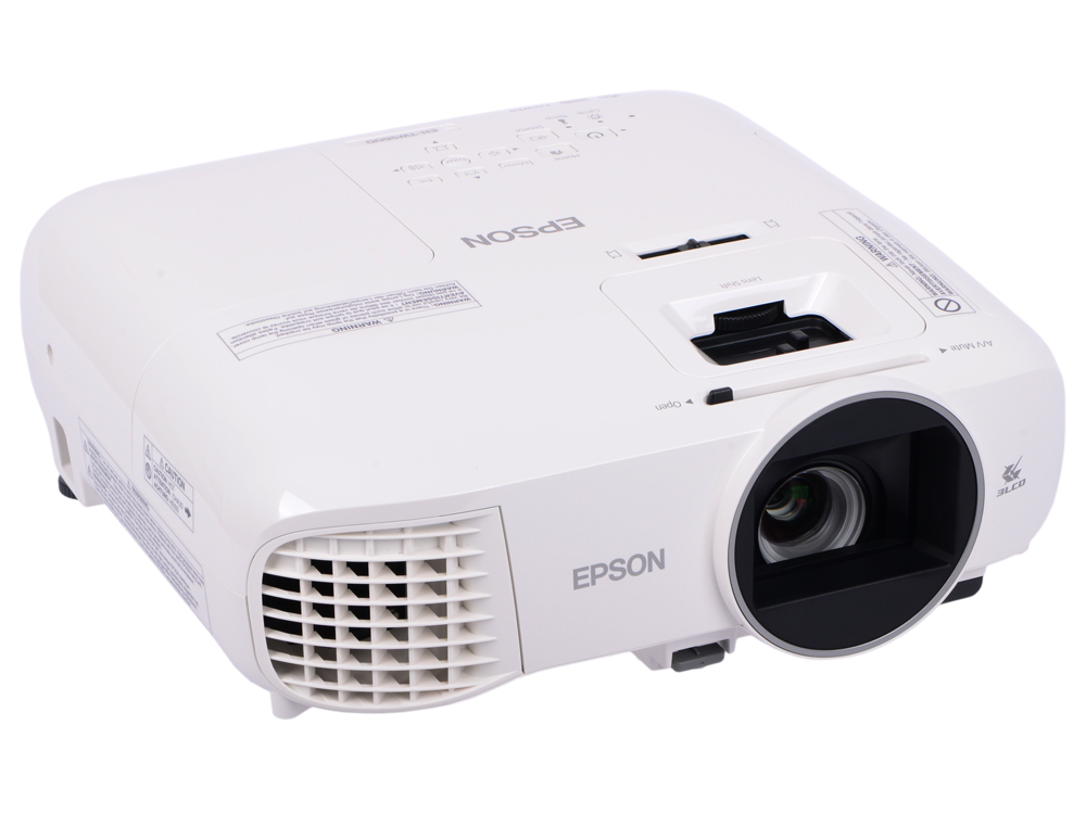 Проектор Epson EH-TW5600 LCDx3 1920x1080 2500ANSI Lm 35000:1 VGA HDMI USB белый V11H851040 awo replacement projector lamp elplp85 v13h010l85 with housing for epson projectors eh tw6600 eh tw6600w powerlite hc3000 hc3500