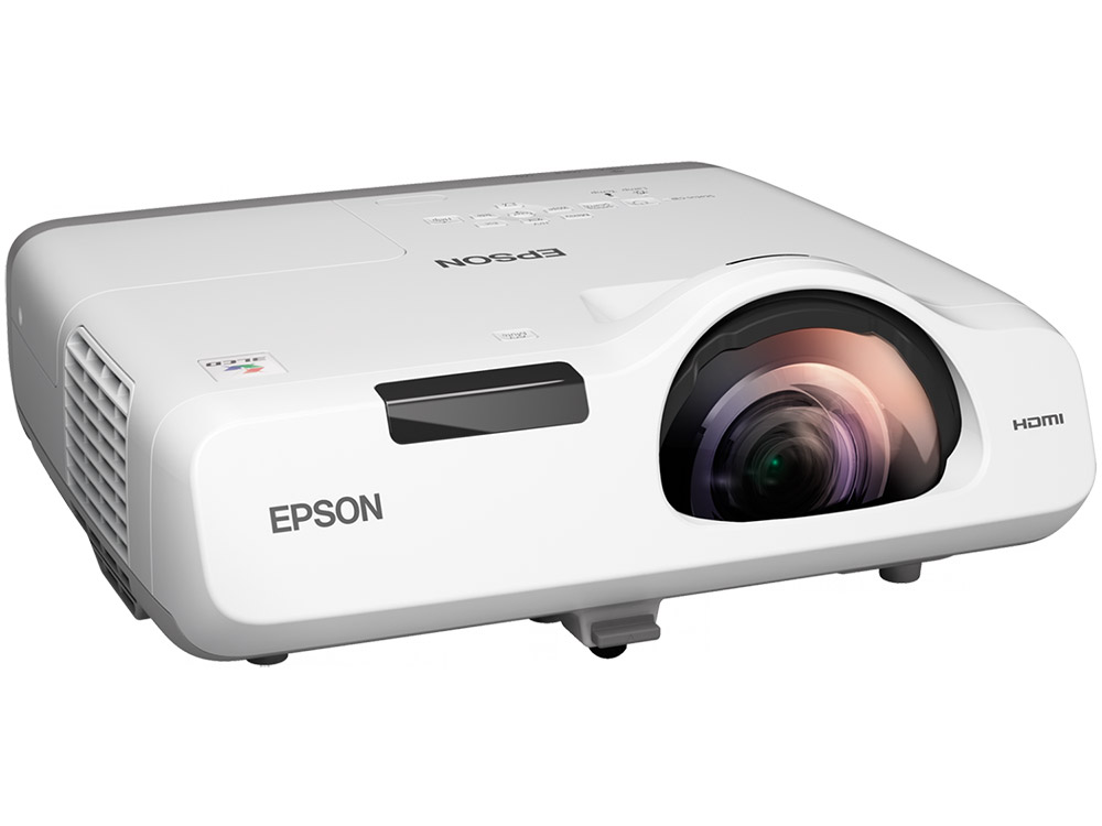 Проектор Epson EB-520 (V11H674040) основной формат - 4:3, XGA (1024х768), 2700 lm, 16 000:1, RJ45 x1, 3.7 кг. 1000ml lm edible ink suit for epson