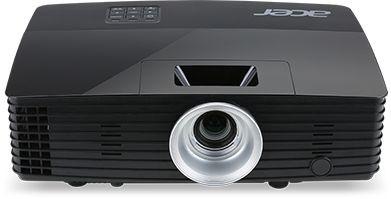 Мультимедийный проектор Acer P1385WB (MR.JLQ11.00D) черный DLP / 1280 x 800 / 16:9 / 3400 Lm / 20000:1 проектор acer f7600 dlp 1920x1200 5000 ansi lm