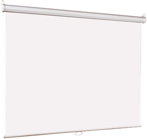 [LEP-100101] Настенный экран Lumien Eco Picture 150х150 см Matte White, восьмигранный корпус, возм. потолочн-настенного крепления (ТРЕУГОЛЬНАЯ уп)