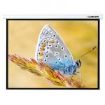 [LMC-100105] Экран с электроприводом Lumien Master Control 244x244 см Matte White FiberGlass черн. кайма по периметру