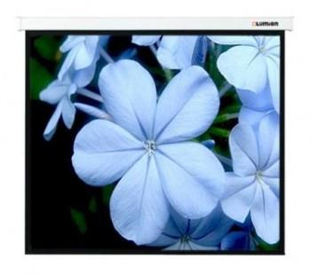 "[LMC-100110] Экран с электроприводом Lumien Master Control 229x305 см (146"") Matte White FiberGlass черн. кайма по периметру"
