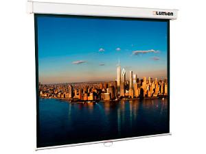 [LMC-100112] Экран с электроприводом Lumien Master Control 305x406 см (196) Matte White FiberGlass черн. кайма по периметру lumien master control 16 10 141x220 см matte white