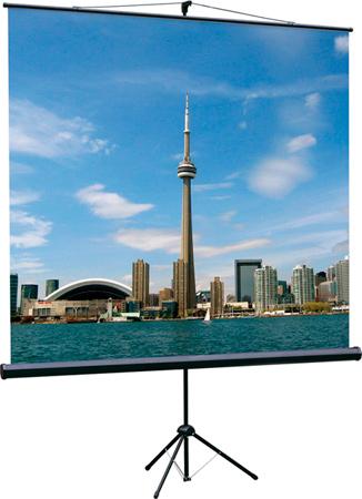[LEV-100105] Экран на штативе Lumien Eco View 160x160 см Matte White с возможностью настенного крепления 1:1