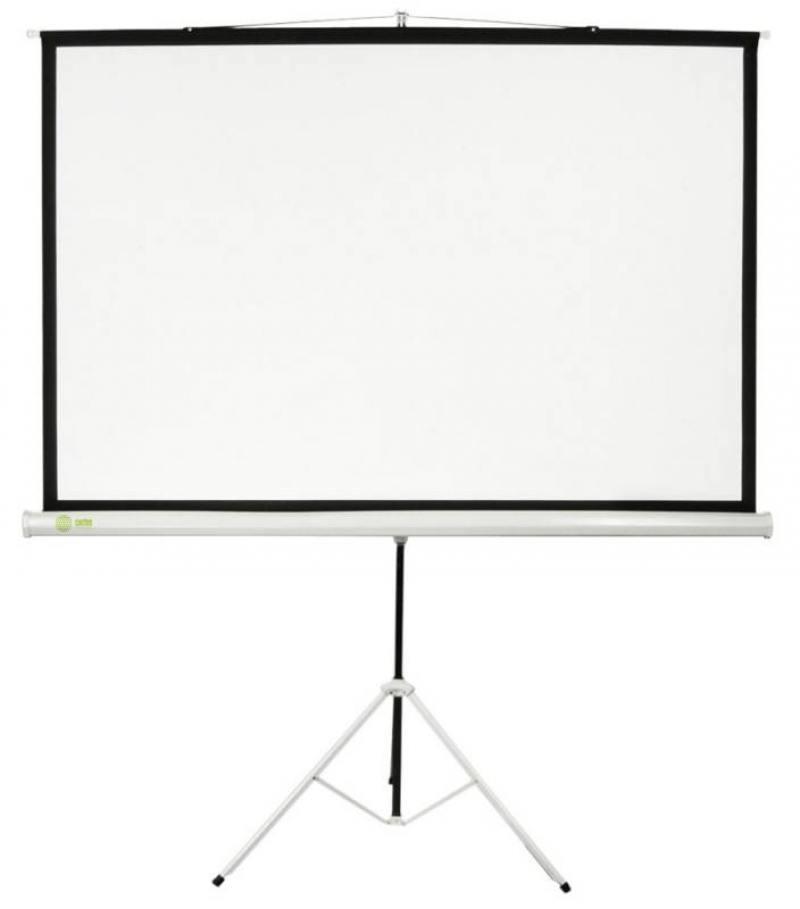 Экран напольный Cactus Triscreen CS-PST-104X186 104.4x186см белый
