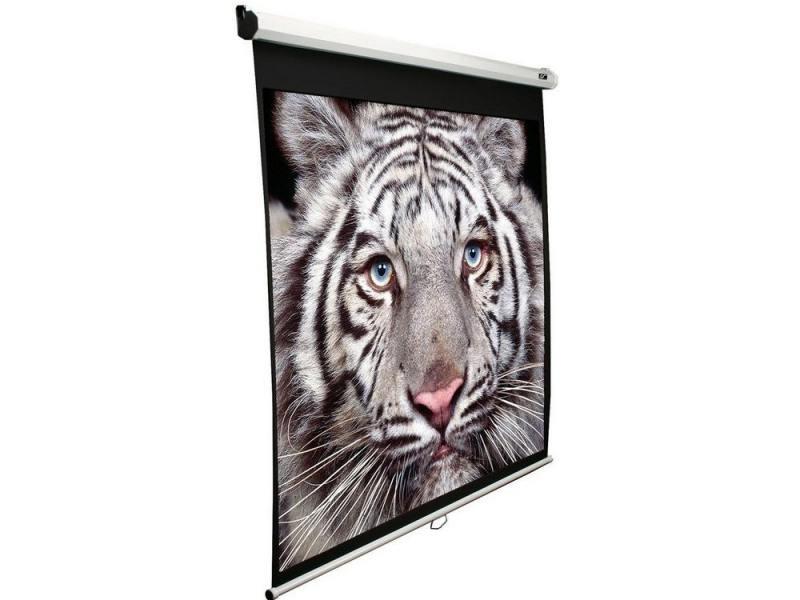 Экран настенный Elite Screens M100NWV1 100 4:3 152x203 ручной MW белый экран настенный elite screens 152x152см m85xws1 ручной mw белый