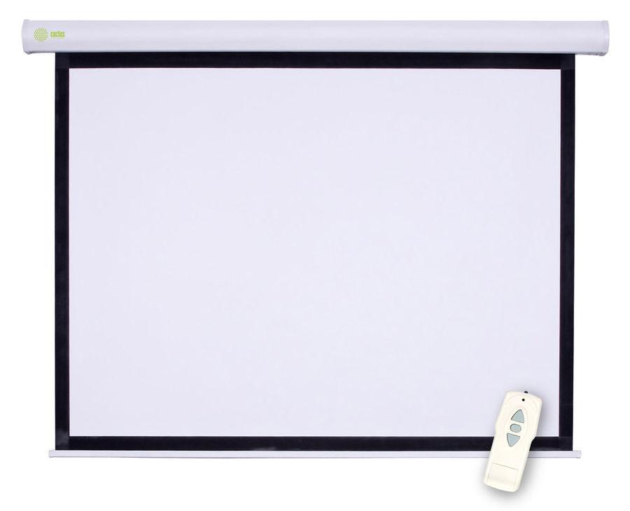 Экран Cactus Motoscreen CS-PSM-150x150 1:1 настенно-потолочный 150x150 рулонный (моторизованный)