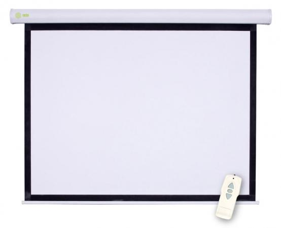 Экран Cactus Motoscreen CS-PSM-180x180 1:1 настенно-потолочный 180x180 рулонный (моторизованный)