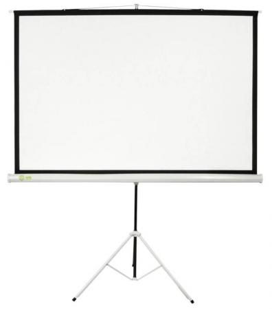 Экран Cactus Triscreen CS-PST-127X127 1:1 напольный 127x127 рулонный белый