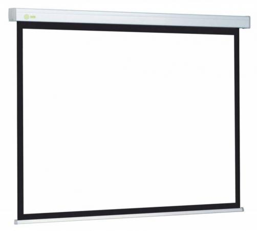 Экран Cactus Wallscreen CS-PSW-180x180 1:1 настенно-потолочный 180x180 рулонный белый экран cactus motoscreen cs psm 180x180 180х180 см 1 1 настенно потолочный