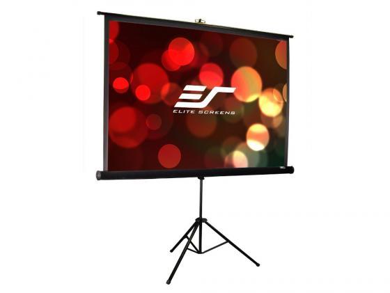 Экран напольный Elite Screens T85UWS1 85 1:1 152x152cm тринога MW черный экран настенный elite screens 152x152см m85xws1 ручной mw белый