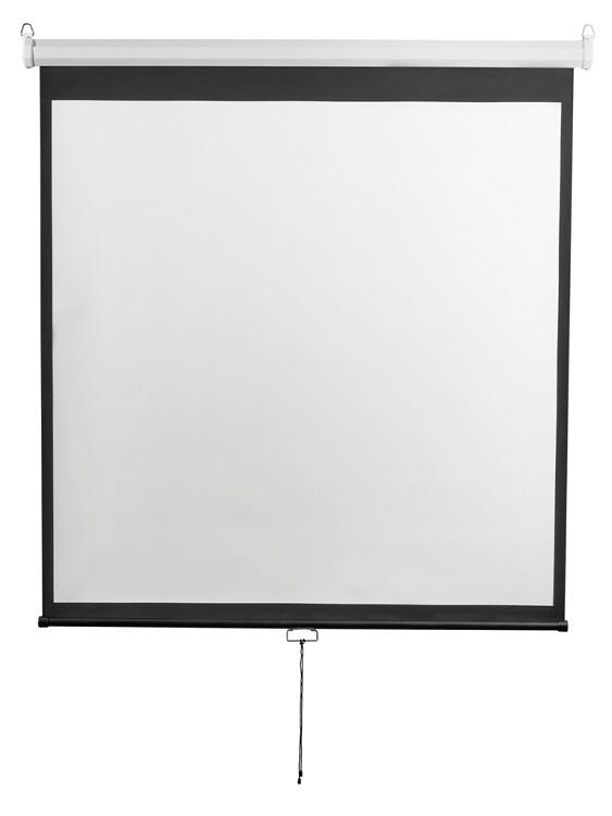 Экран настенный Digis DSOD-1107 (Optimal-D, формат 1:1, 135, 248x250, рабочая поверхность 240x240, MW)
