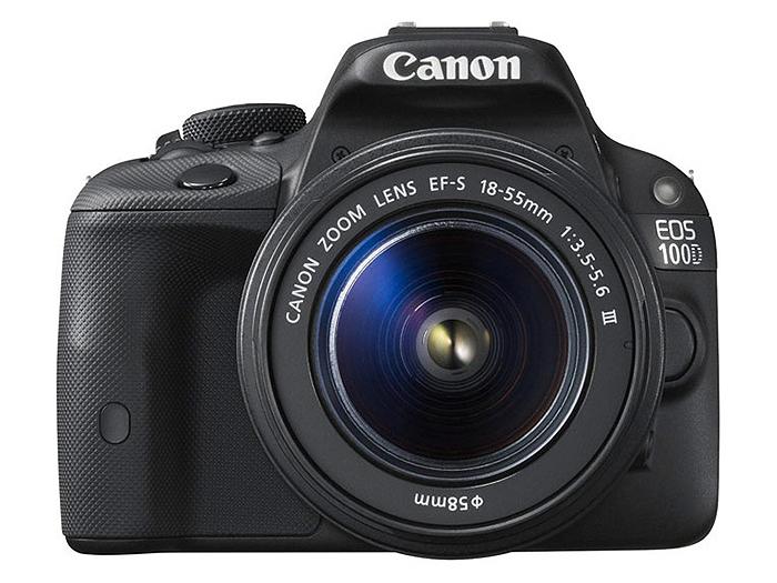 Фотоаппарат Canon EOS 100D KIT (зеркальный, 18Mp, EF18-55 DC III, 3