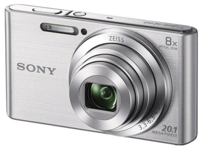Фотоаппарат SONY DSC-W830S Silver (20Mp, 8x zoom, 2.7, SDXC, 720P) [DSCW830B.RU3] genuine replacement 3 touch screen for sony dsc t99 t99c t110