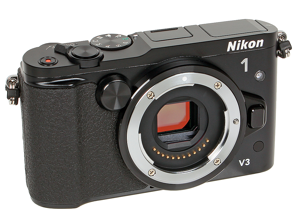 Фотоаппарат Nikon 1 V3 Black Body (18.4Mp, 3