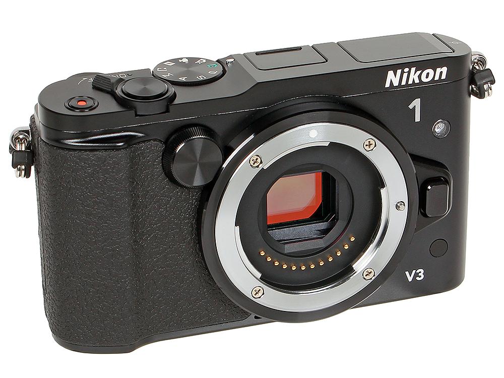 Фотоаппарат Nikon 1 V3 Black Body (18.4Mp, 3, 1080P, WiFi)(сменная оптика) купить nikon d80 body петербург