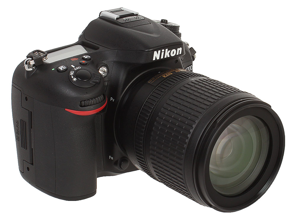 Фотоаппарат Nikon D7100 KIT (AF-S DX 18-105 VR 24.2Mp, 3.2 LCD) фотоаппарат зеркальный nikon d3400 af p 18 55 ii kit