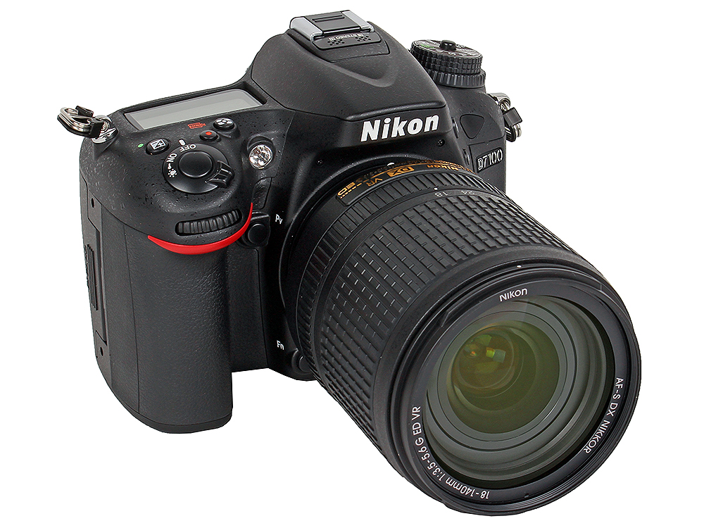 Фотоаппарат Nikon D7100 KIT (AF-S DX 18-140 VR 24.2Mp, 3.2 LCD) nikon d7100 kit 18 105vr
