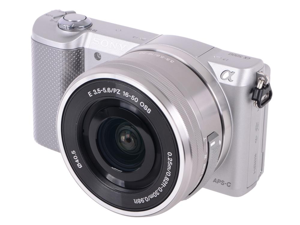 Фотоаппарат SONY ILCE-5000LB Black