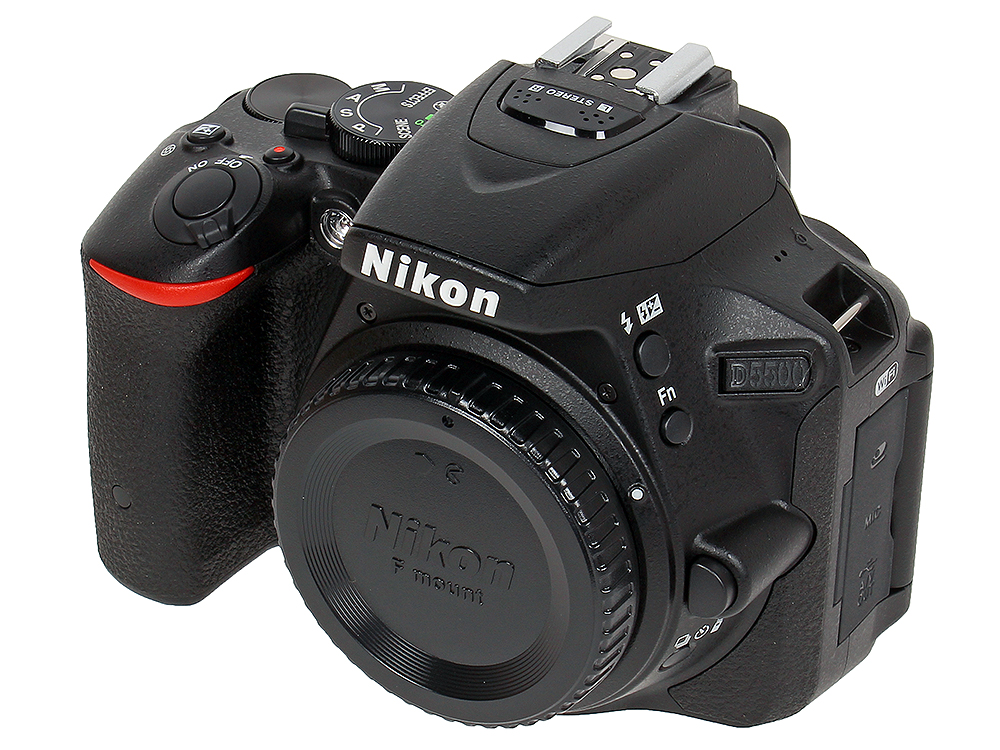 Фотоаппарат Nikon D5500 Black Body (24.1Mp, 3.2