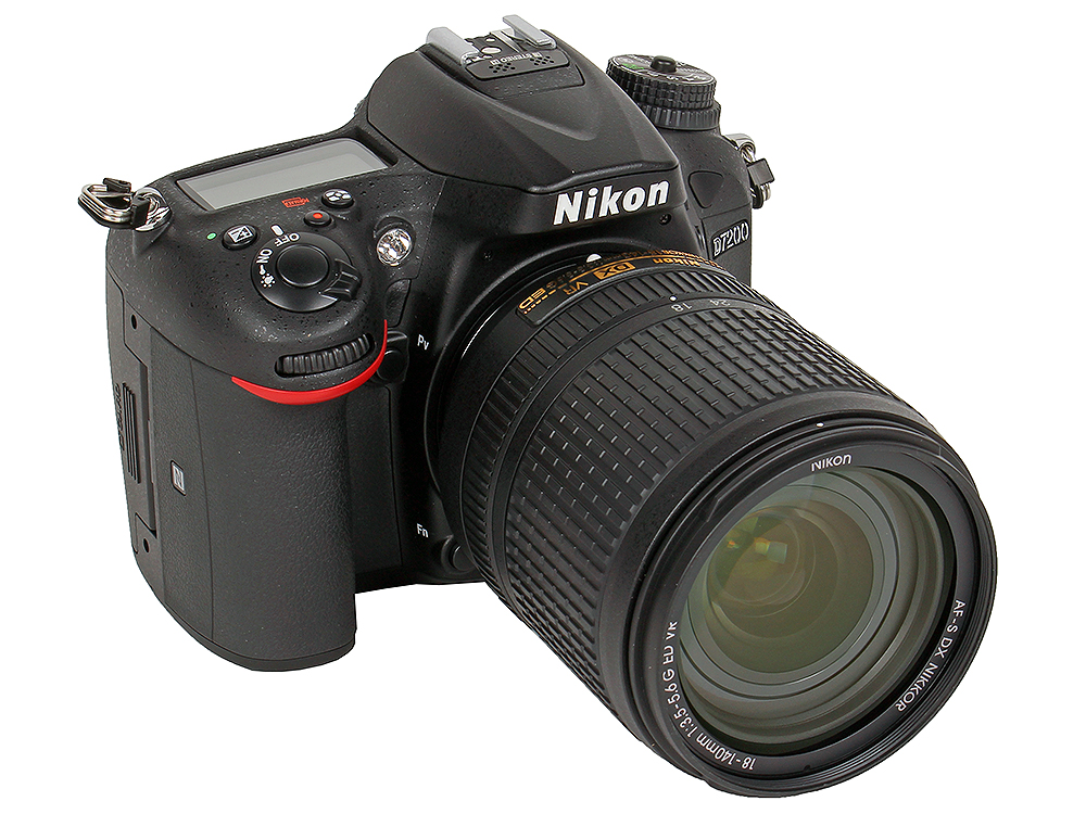 Фотоаппарат Nikon D7200 KIT (AF-S DX 18-140 VR 24.2Mp, 3.2 LCD)