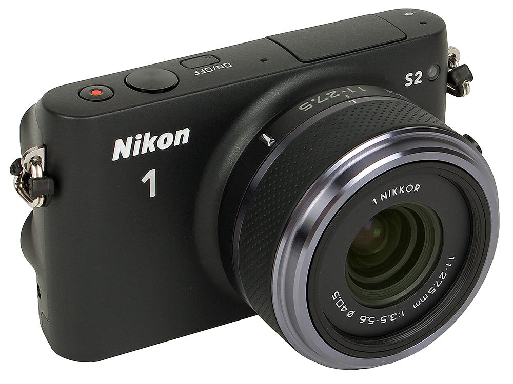 Фотоаппарат Nikon 1 S2 Black + 11-27.5  (14.2Mp, 3