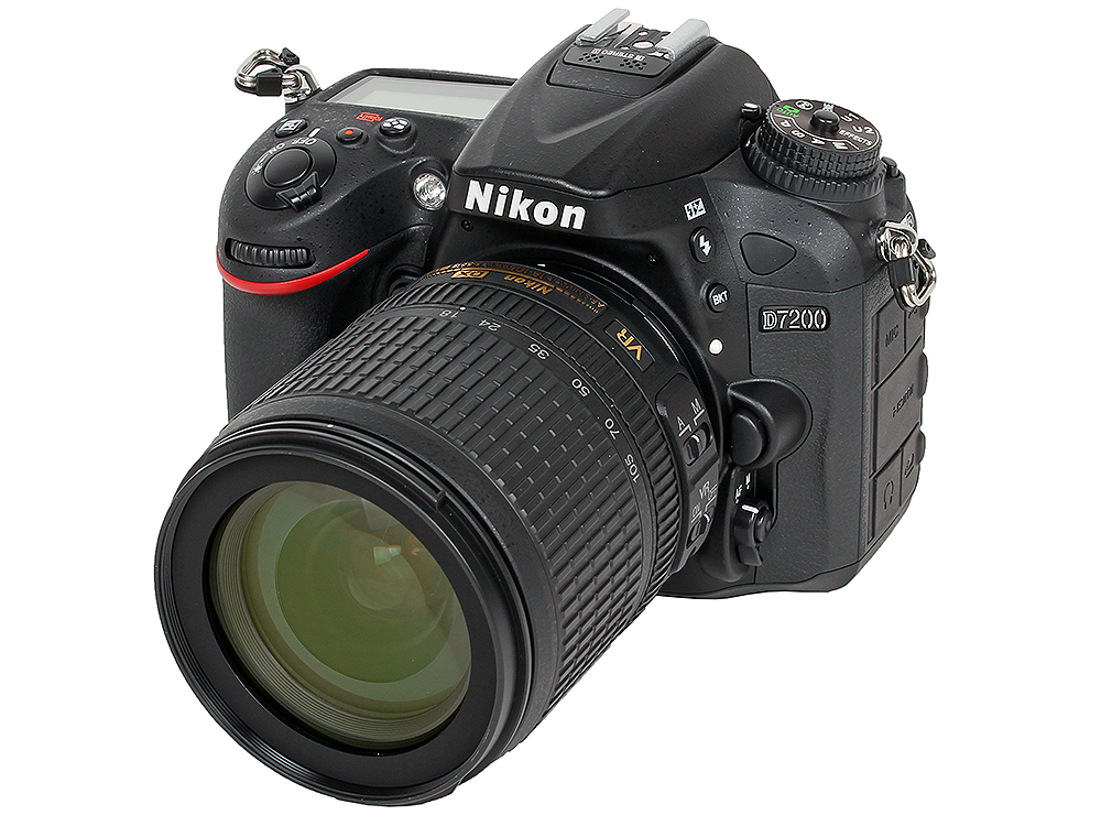 Фотоаппарат Nikon D7200 KIT (AF-S DX 18-105 VR 24.2Mp, 3.2 LCD)