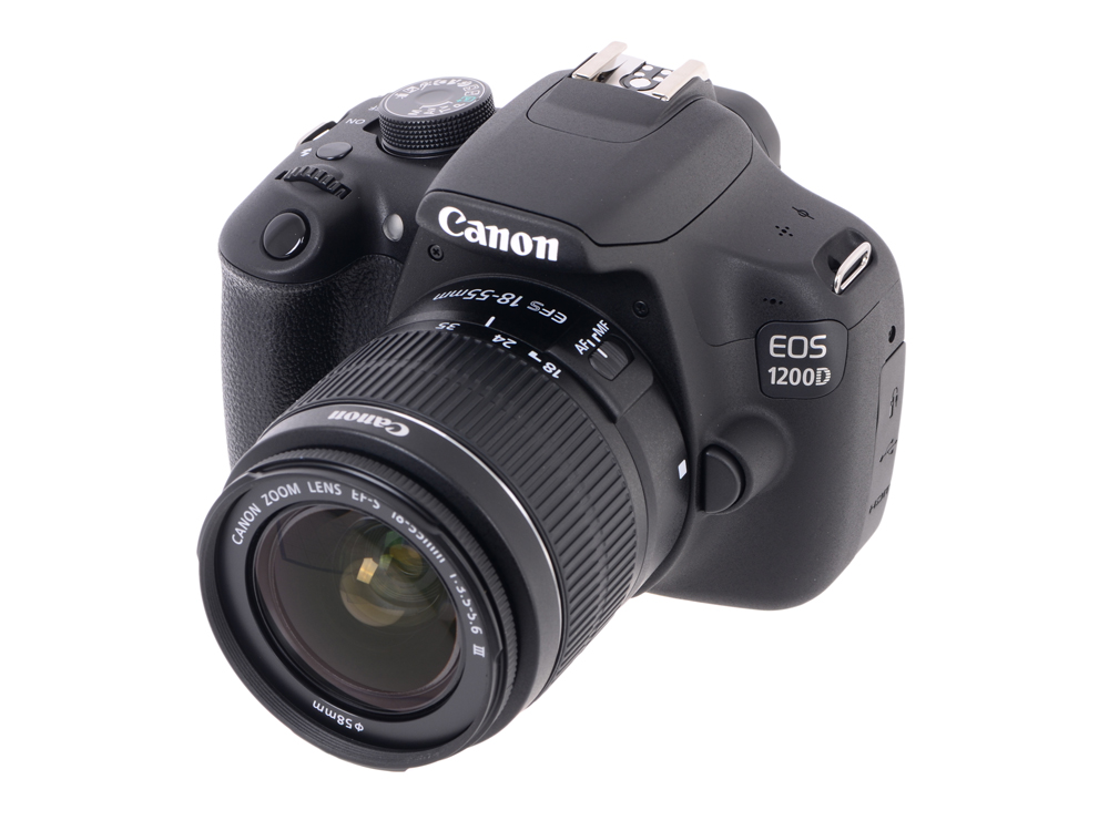 Фотоаппарат Canon EOS 1200D 18-55 DC III Kit Black