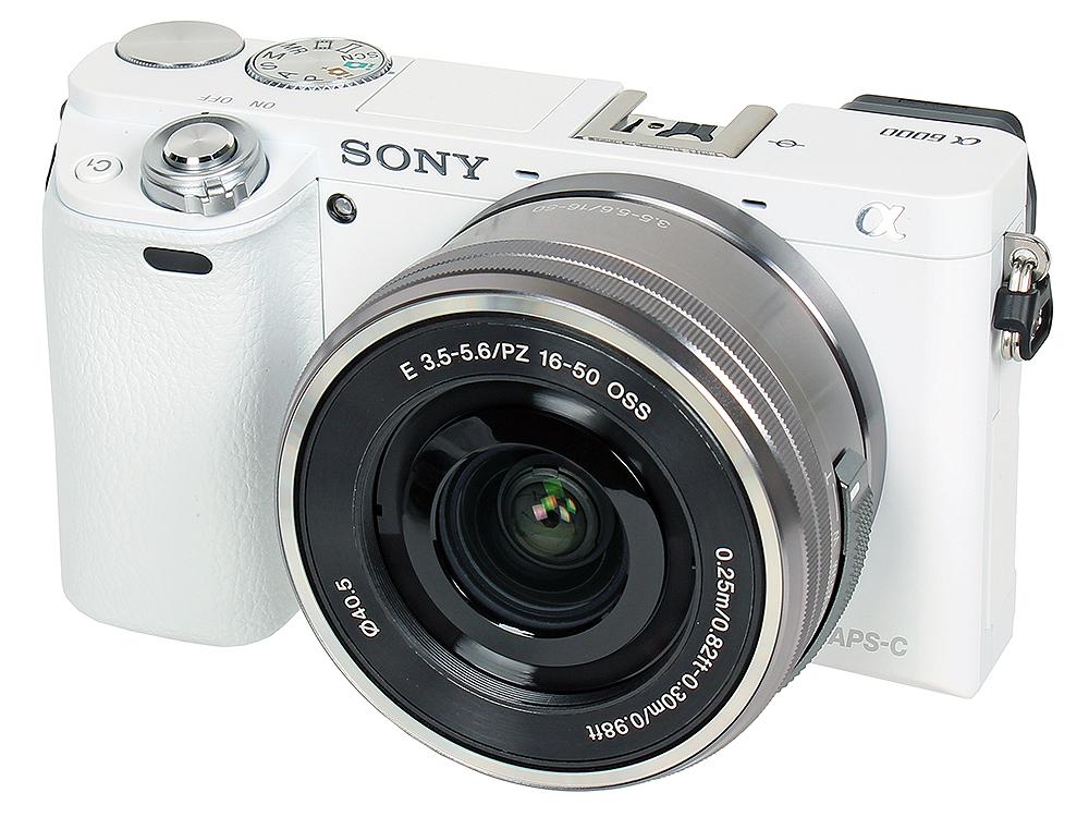 Фотоаппарат SONY ILCE-6000LW фотоаппарат sony cyber shot dsc rx10m2
