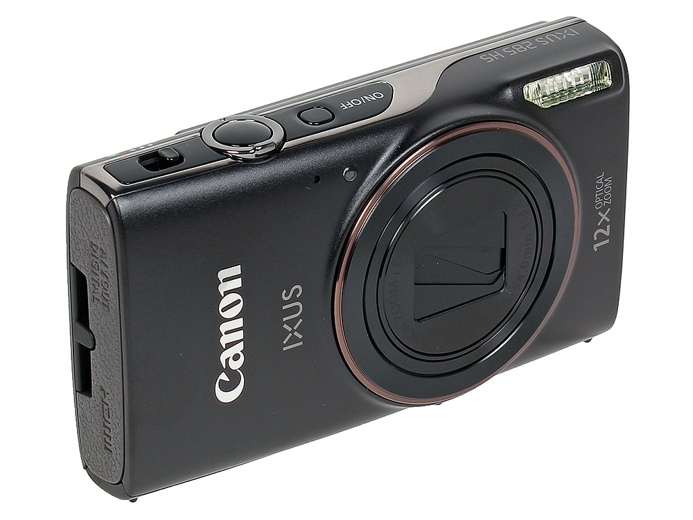 Фотоаппарат Canon IXUS 285 HS Black (20.2Mp, 12x Zoom, WiFi, 3.0'', SD)