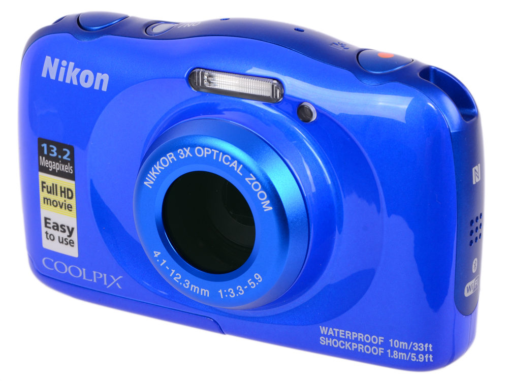 Фотоаппарат Nikon Coolpix W100 Blue Backpack KIT