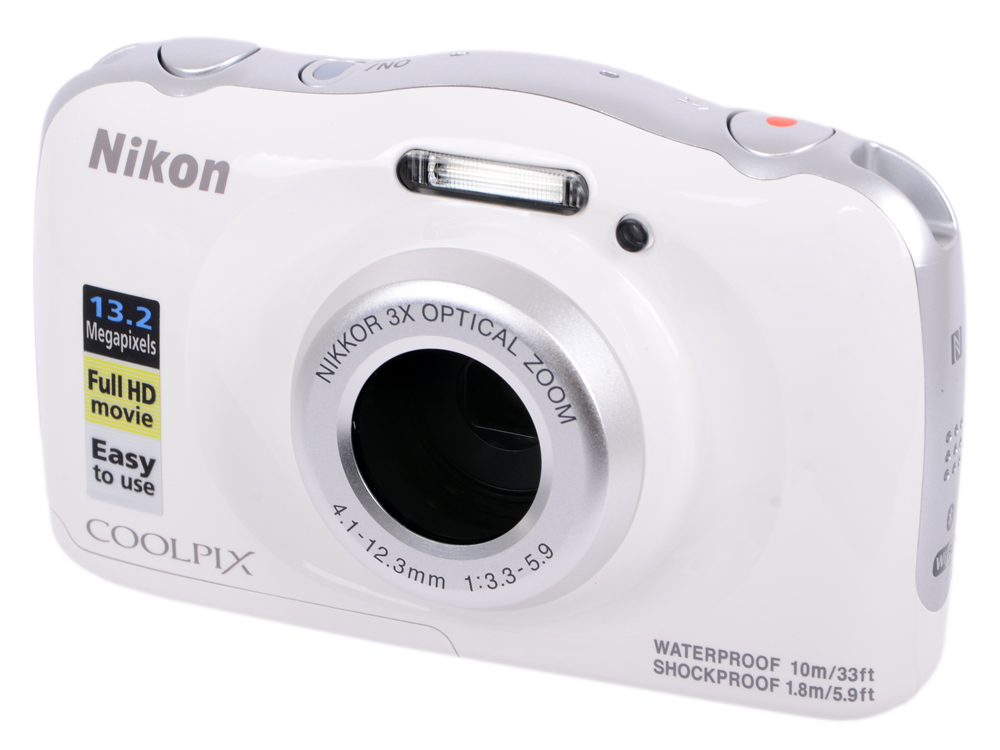 Фотоаппарат Nikon Coolpix W100 White Backpack KIT