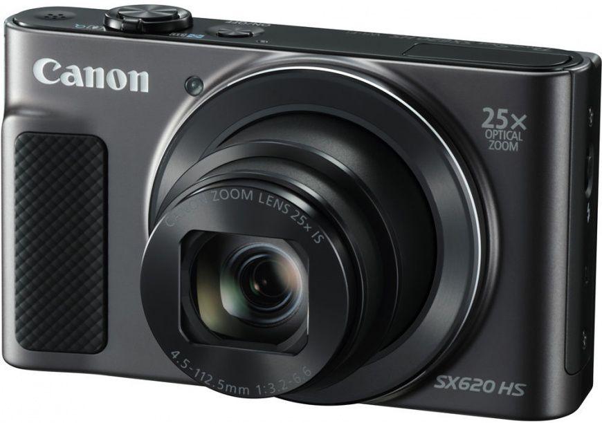 Фотоаппарат цифровой Canon PowerShot SX620 HS черный, 20Mpx CMOS, zoom 25x, оптическая стаб., 1920x1080, экран 3.0'', Wi-fi и NFC,