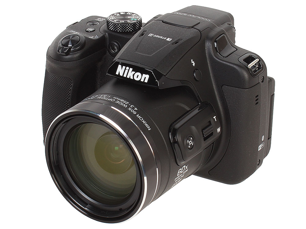 Фотоаппарат Nikon Coolpix B700 Black(20.3Mp, 60x zoom, 3, 1080P, WiFi, SDHC) удлинитель zoom ecm 3