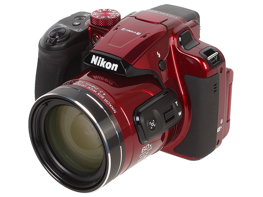 Фотоаппарат Nikon Coolpix B700 Red(20.3Mp, 60x zoom, 3, 1080P, WiFi, SDHC)