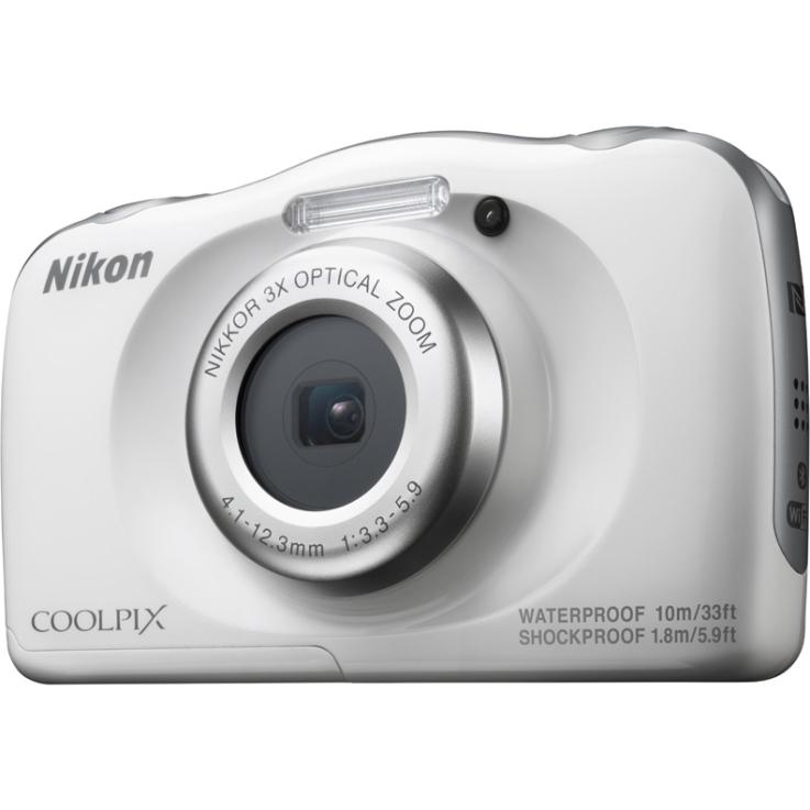 Фотоаппарат Nikon Coolpix W100 White Holiday KIT