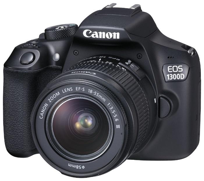 Фотоаппарат Canon EOS 1300D Kit Black 18-55 DC III