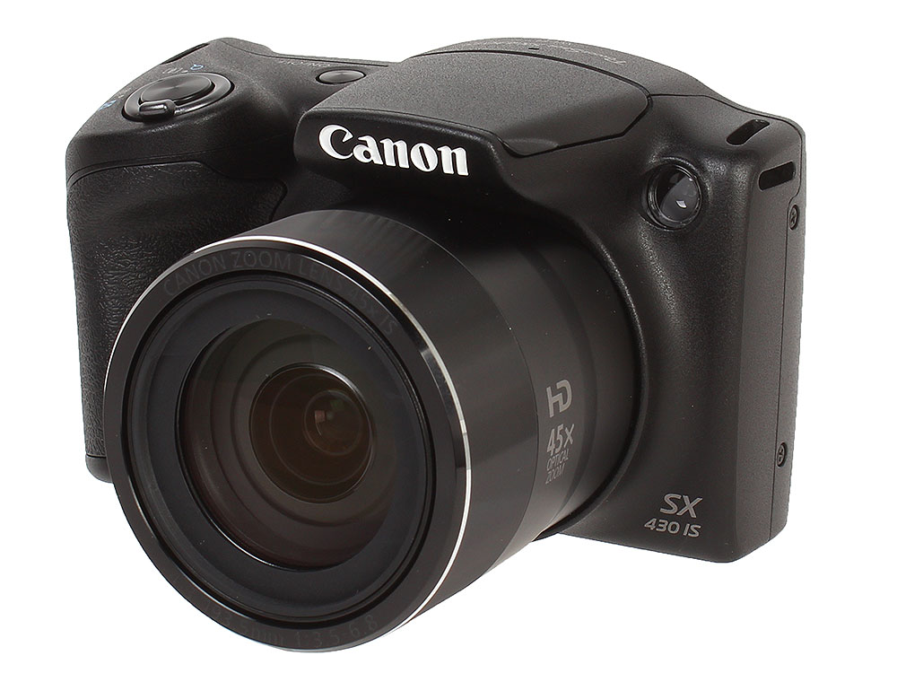 Фотоаппарат Canon PowerShot SX430 IS Black фотоаппарат canon powershot sx430 is 20mp 45xzoom черный 1790c002