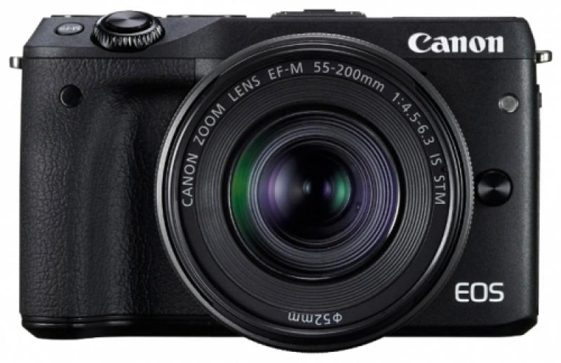 Фотоаппарат Canon EOS M3 BK M15-45 черный 9694B142